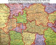 Maroshátság területe a történelmi Magyarország területén