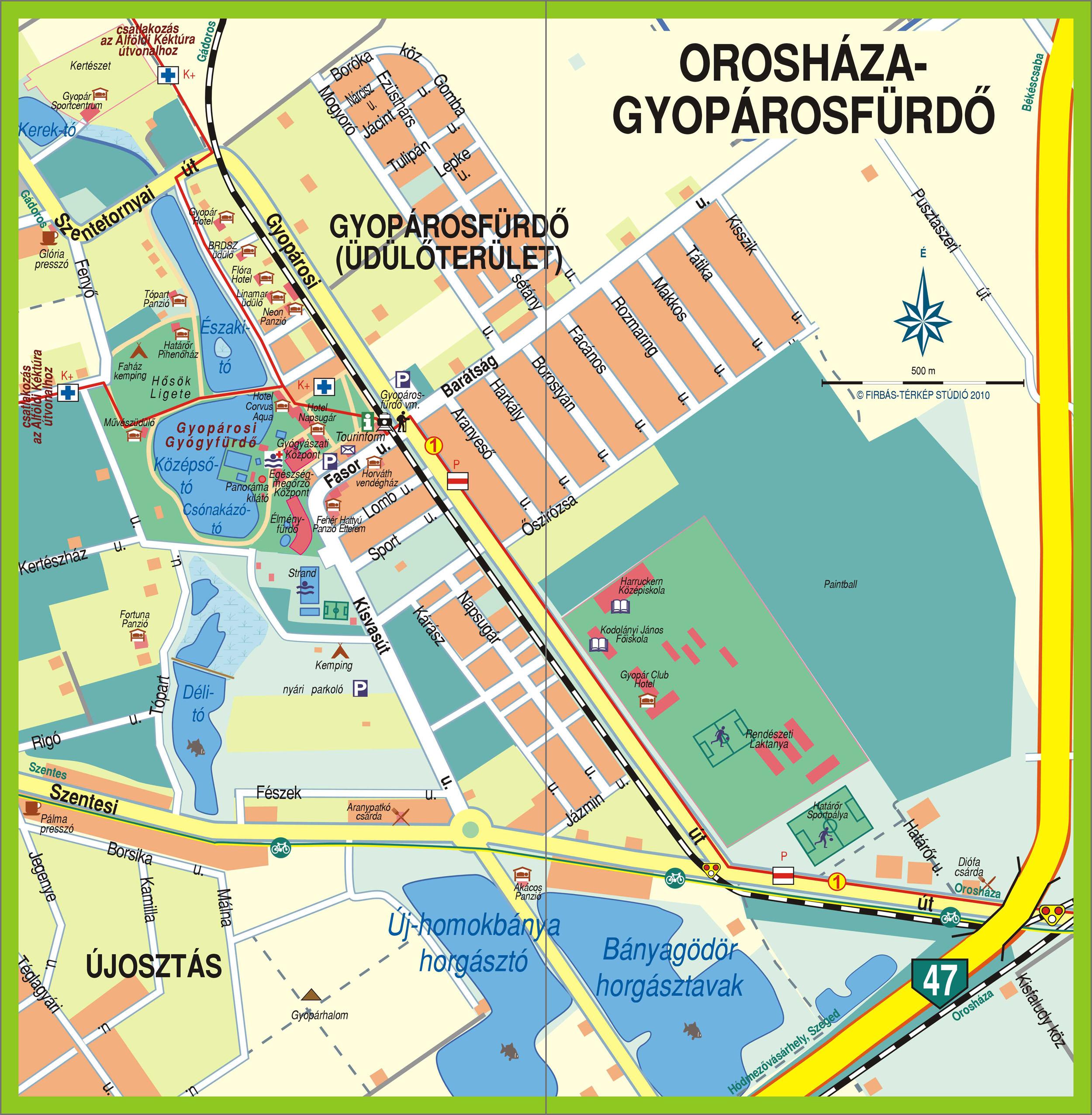 magyarország térkép gyopárosfürdő Marosháti túraútvonalak » Túratérképek magyarország térkép gyopárosfürdő