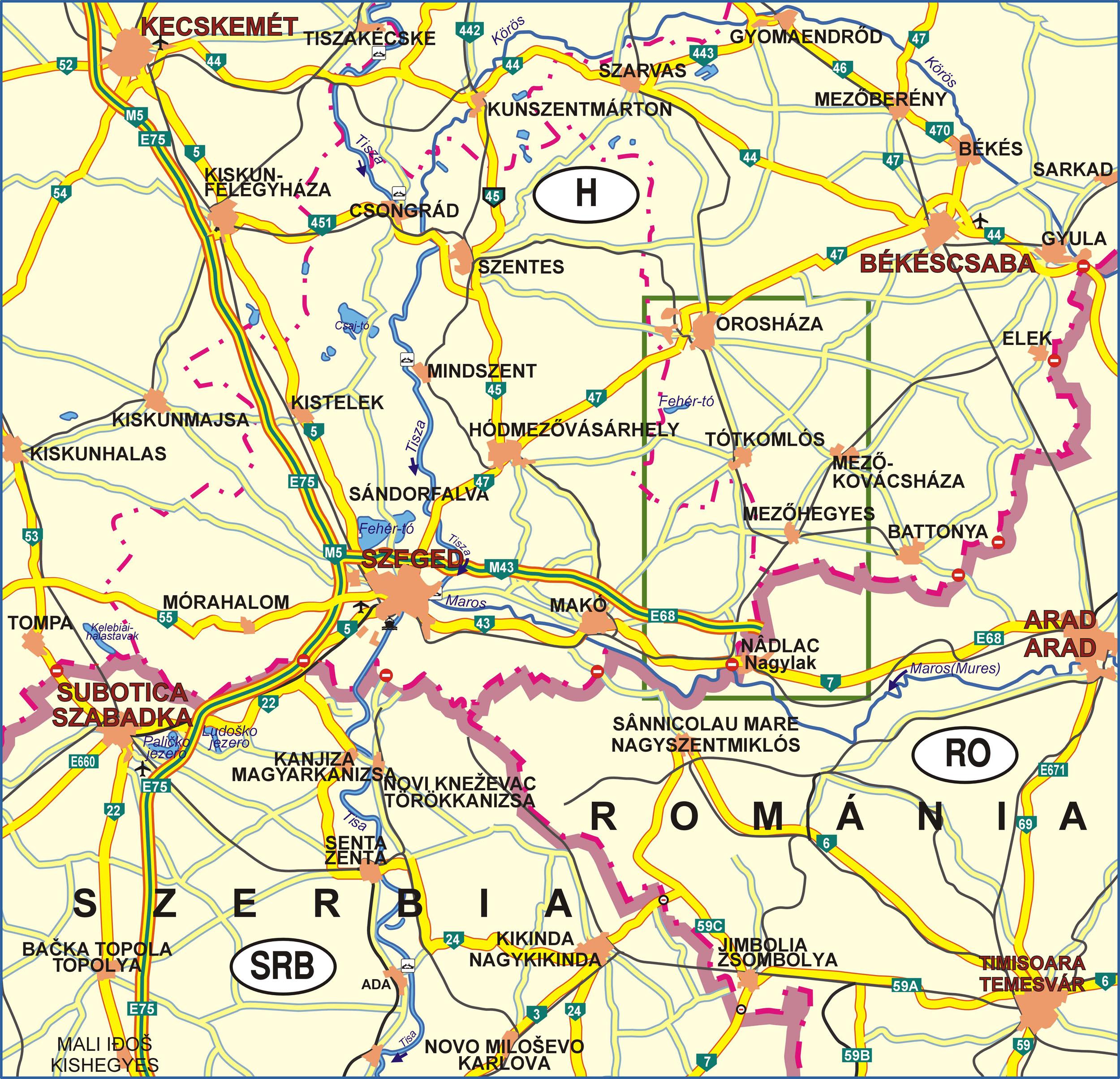 gyopárosfürdő térkép Marosháti túraútvonalak » Túratérképek gyopárosfürdő térkép