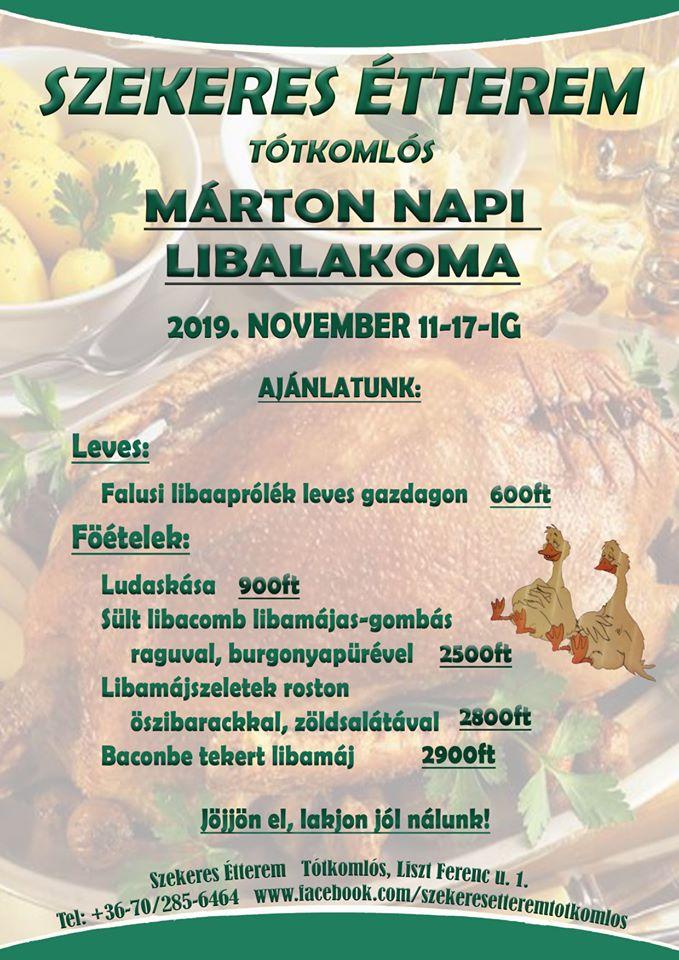 Márton-napi Libalakoma